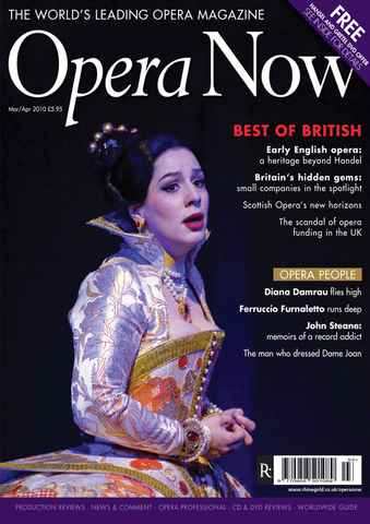 Opera Now issue Mar-Apr 2010