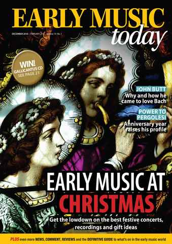 Early Music Today issue Dec-Feb 2011