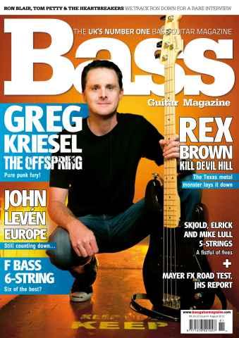 Bass Guitar issue 81 August 2012