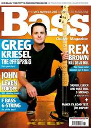 Bass Guitar issue 81 August 2012