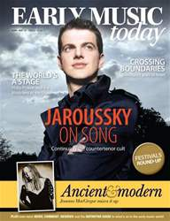 Early Music Today issue Apr-May 2010