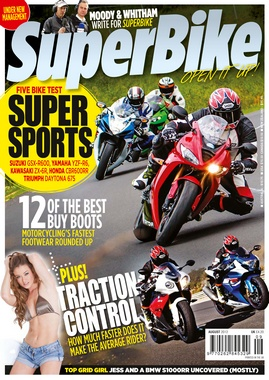 Superbike Magazine issue August 2012