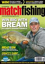 Match Fishing issue August 2012
