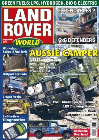 Landrover World issue Land Rover World September 2012