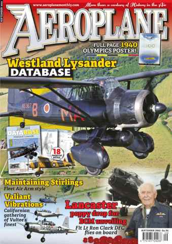 Aeroplane issue No.473 Lysander Special