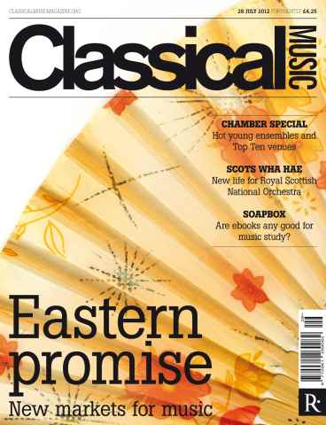 Classical Music issue Classical Music 28 July 2012