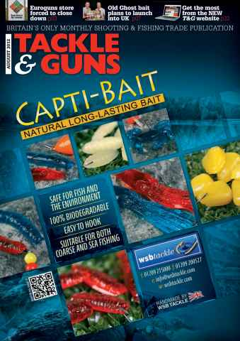 Tackle & Guns issue August 2012