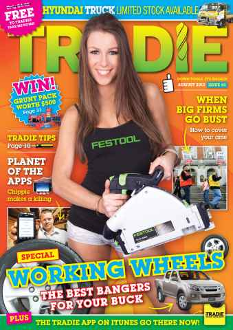Tradie issue TRADIE AUGUST 2012
