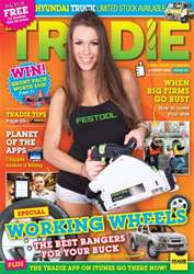 Tradie issue TRADIE AUGUST 2012