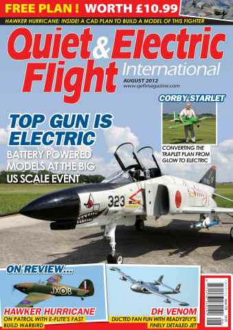 Quiet & Electric Flight Inter issue August 2012