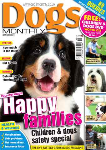 Dogs Monthly issue September 2012