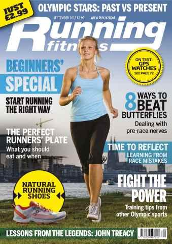 Running Fitness issue Getting Started September 2012