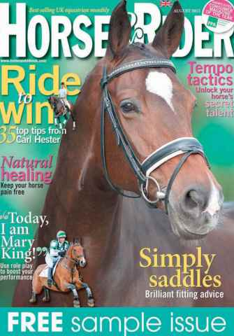 Horse&Rider Magazine - UK equestrian magazine for Horse and Rider issue Sample