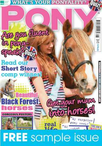 Pony Magazine issue Sample