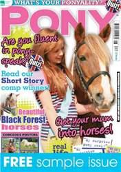 Pony Magazine issue Sample