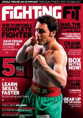 Fighting Fit issue September 2012