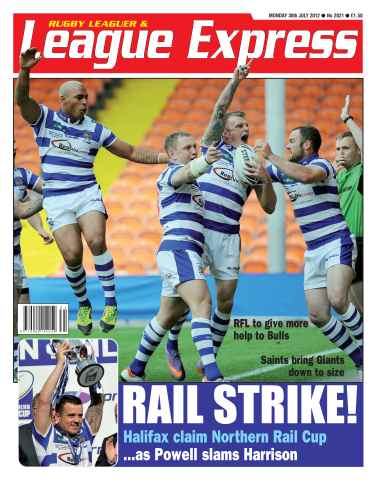 League Express issue 2821