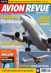 Avion Revue Internacional España issue Número 362