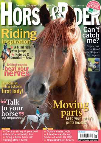 Horse&Rider Magazine - UK equestrian magazine for Horse and Rider issue September 2012