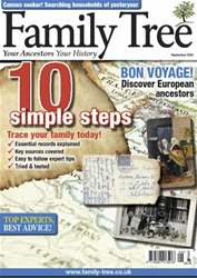 Family Tree issue Family Tree September 2012