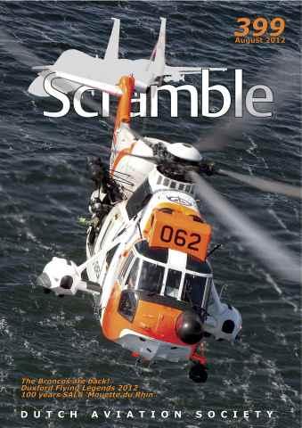 Scramble Magazine issue 399 - August 2012