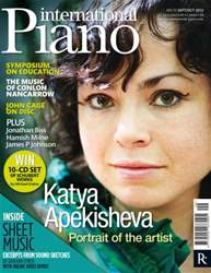 International Piano issue International Piano Sep-Oct 2012