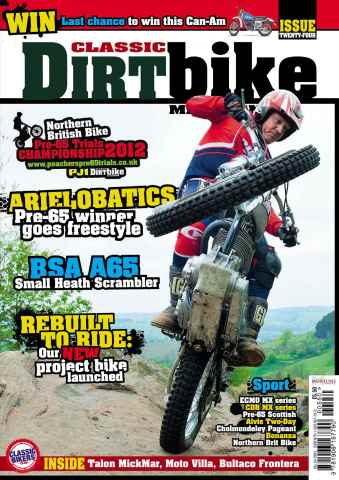 Classic Dirt Bike issue Issue #24