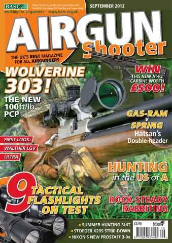 Airgun Shooter issue September 2012
