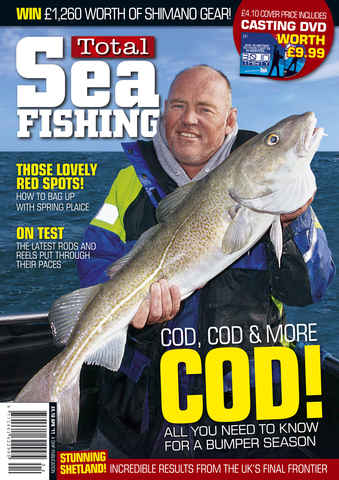 Total Sea Fishing issue April 2011
