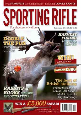 Sporting Rifle issue 81