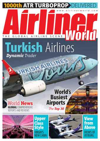 Airliner World issue FREE Sample Issue