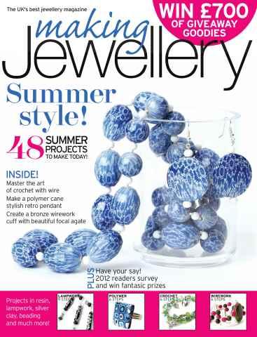 Making Jewellery issue September 2012
