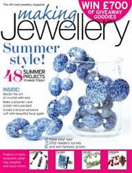 Making Jewellery issue September 2012