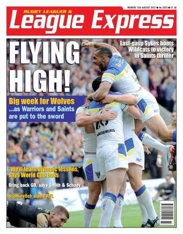League Express issue 2823