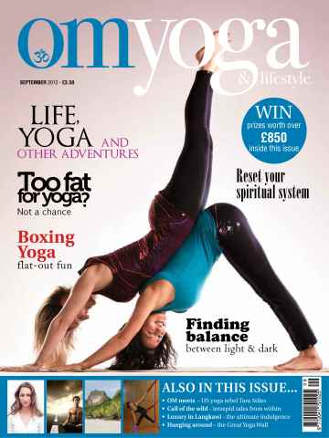 OM Yoga UK Magazine issue September 2012 Issue 24