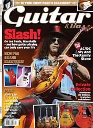 Guitar & Bass Magazine issue September 2012 Slash