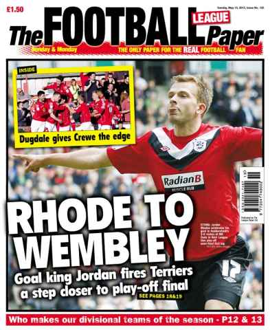 The Football League Paper issue Placeholder - New Season 20.8