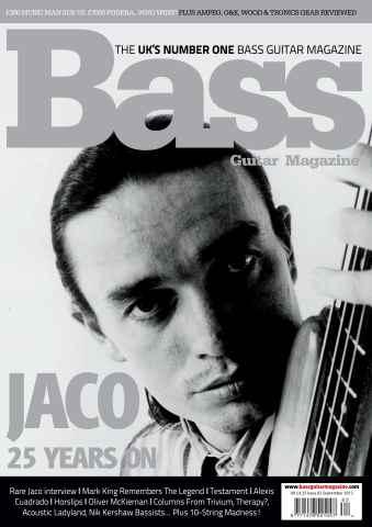 Bass Guitar issue 82 September 2012