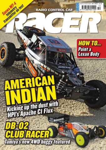 Radio Control Car Racer issue October 12