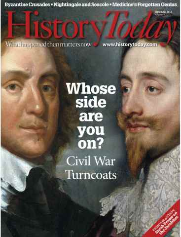 History Today issue September 2012