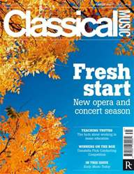 Classical Music issue Classical Music Music 25 August