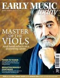 Early Music Today issue Early Music Today Sep-Nov 2012