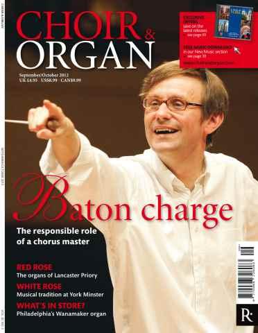 Choir & Organ issue Choir&Organ Sept-Oct 2012
