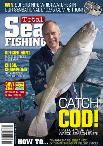 Total Sea Fishing issue January 2011