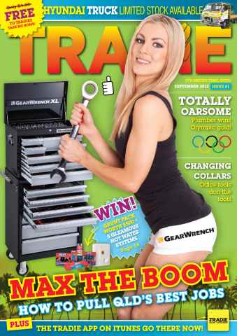 Tradie issue TRADIE SEPTEMBER 2012