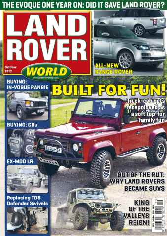 Landrover World issue Land Rover World October 2012
