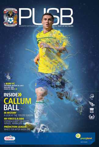 CCFC Official Programmes issue 02 v BURY (12-13)
