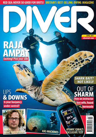 DIVER issue April 2011