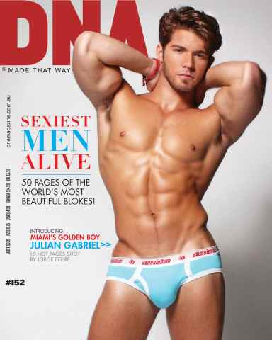 DNA Magazine issue #152 - Sexiest Men Alive