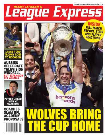 League Express issue 2825